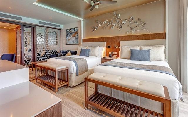 Hotel Royalton Suites Cancun Resort and Spa, amplias y luminosas habitaciones