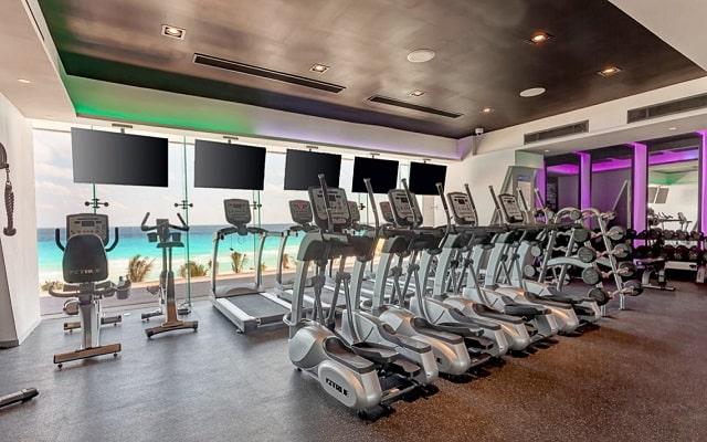 Hotel Royalton Suites Cancun Resort and Spa, gimnasio