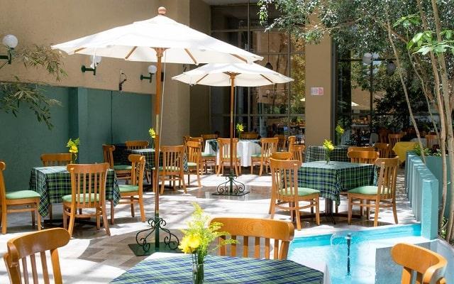 Hotel San Francisco Toluca, escenario ideal para tus alimentos