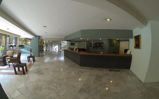 Hotel San Francisco Toluca, limpias y funcionales instalaciones