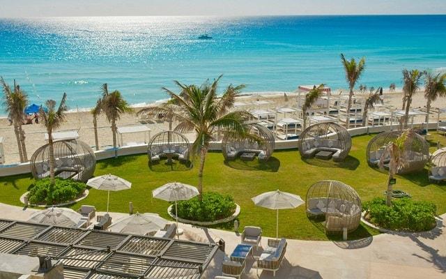 Hotel Sandos Cancún Lifestyle Resort, lujosas instalaciones