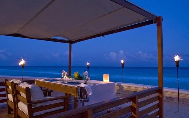 Hotel Sandos Cancún Lifestyle Resort, cena romántica