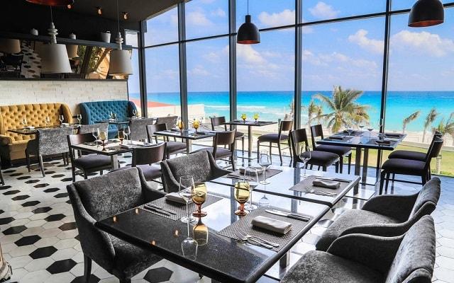 Hotel Sandos Cancún Lifestyle Resort, escenario ideal para tus alimentos