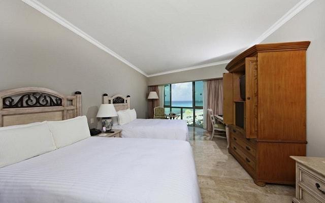 Hotel Sandos Cancún Lifestyle Resort, habitaciones bien equipadas