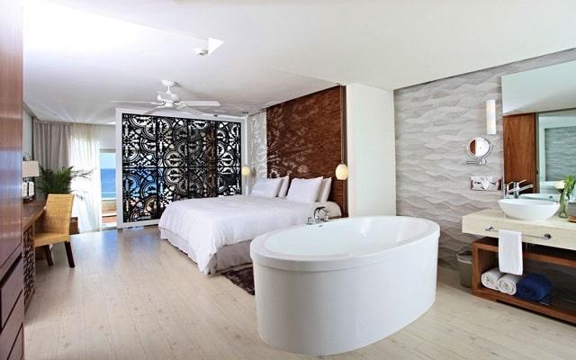 Hotel Sandos Finisterra Los Cabos All Inclusive Resort, habitaciones con todas las amenidades