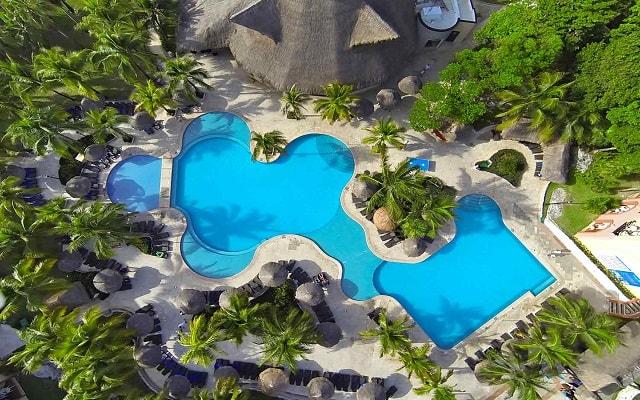 Hotel Sandos Playacar Beach Resort Select Club All Inclusive, vista aérea
