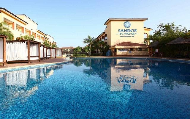 Hotel Sandos Playacar Beach Resort Select Club All Inclusive, relájate en las camas bali