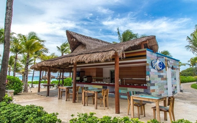 Hotel Sandos Playacar Beach Resort Select Club All Inclusive, prueba ricos snacks