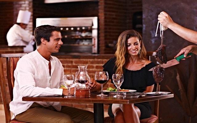 Hotel Sandos Playacar Beach Resort Select Club All Inclusive, Restaurante Fogo de Janeiro