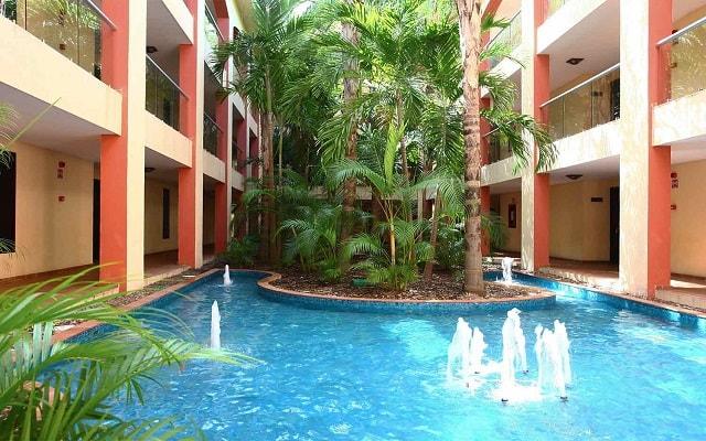 Hotel Sandos Playacar Beach Resort Select Club All Inclusive, sitios de gran confort