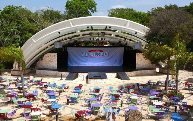Hotel Sandos Playacar Beach Resort Select Club All Inclusive, teatro