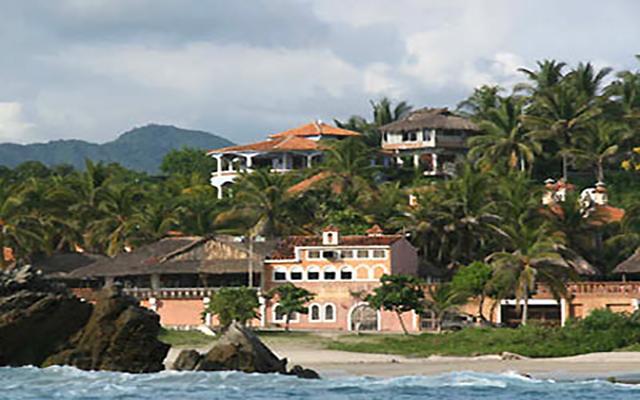 Hotel Santa Fe Puerto Escondido en Playa Zicatela