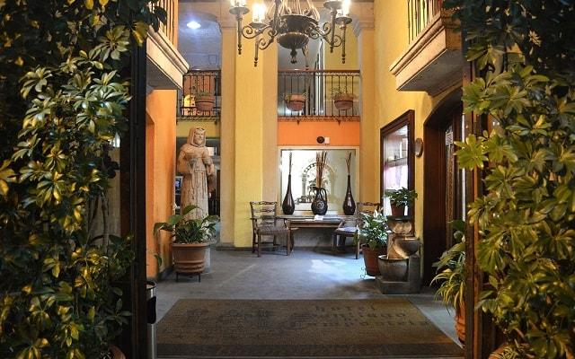 Hotel Santiago de Compostela, arquitectura colonial