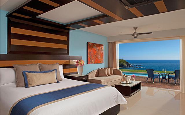 Secrets Huatulco Resort and Spa, habitaciones bien equipadas