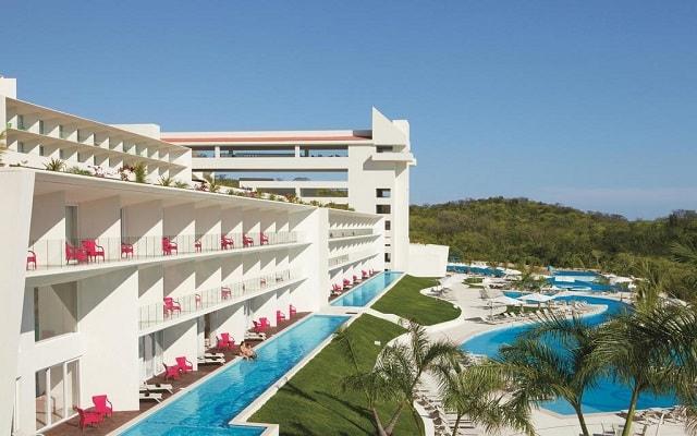 Hotel Secrets Huatulco Resort and Spa, habitaciones con acceso directo a la alberca