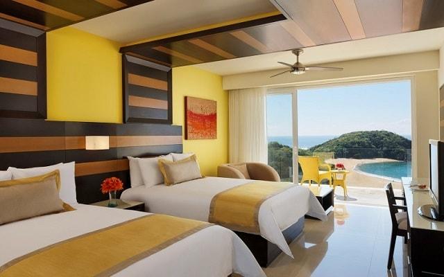 Hotel Secrets Huatulco Resort and Spa, habitaciones bien equipadas