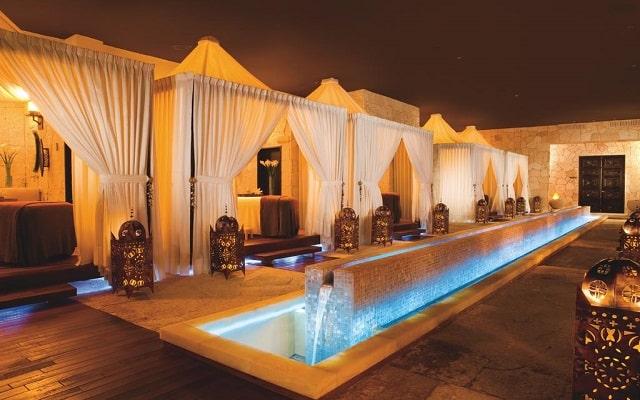 Hotel Secrets Maroma Beach Riviera Cancún, spa con variedad de tratamientos