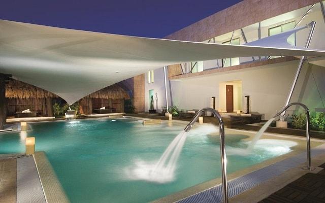 Hotel Secrets Silversands Riviera Cancún, disfruta del circuito de hidroterapia
