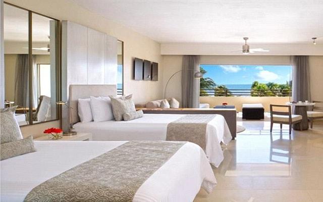 Hotel Secrets Silversands Riviera Cancún, amplias y luminosas habitaciones