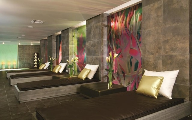 Hotel Secrets Silversands Riviera Cancún, sala de descanso en el spa