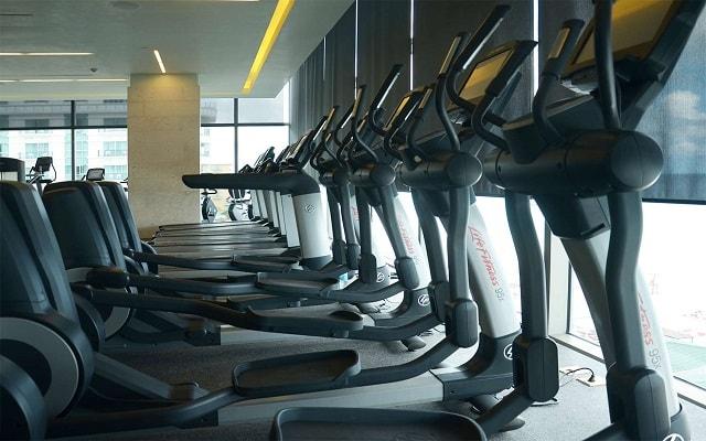 Hotel Secrets The Vine Cancún, gimnasio bien equipado