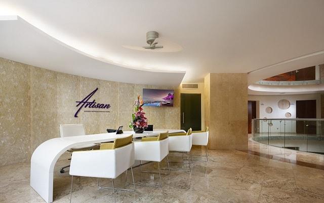 Hotel Senses Quinta Avenida by Artisan Adults Only, atención personalizada desde el inicio de tu estancia