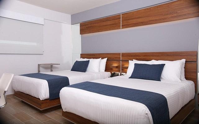 Hotel Sleep Inn Hermosillo, habitaciones con todas las amenidades