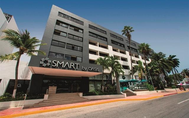 Hotel Smart Cancún by Oasis, buena ubicación