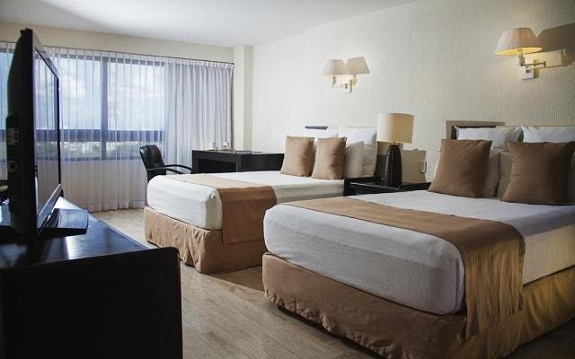 Hotel Smart Cancún by Oasis, habitaciones bien equipadas