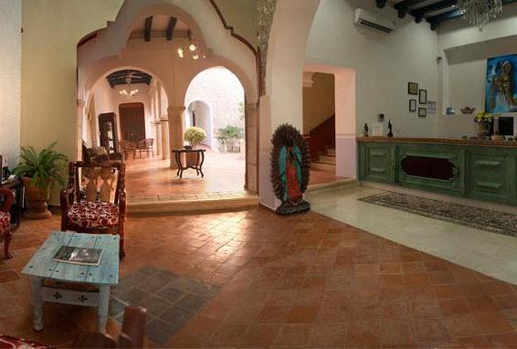 Hotel Socaire Campeche Recepción