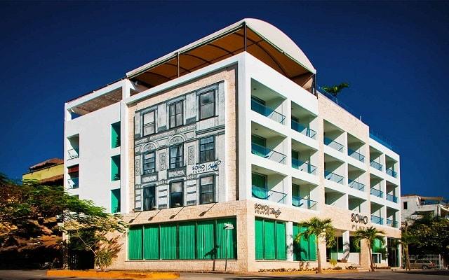 Hotel Soho Playa en Playa del Carmen