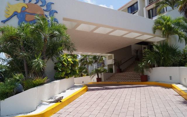 Hotel Solymar Beach Resort, buena ubicación en la Zona Hotelera frente a la playa