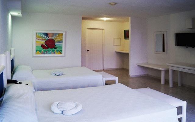 Hotel Solymar Beach Resort, amplias y luminosas habitaciones