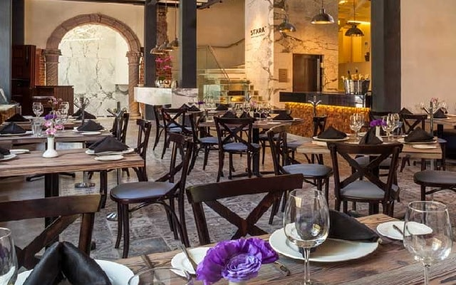 Hotel Stara San Ángel Inn, escenario ideal para tus alimentos