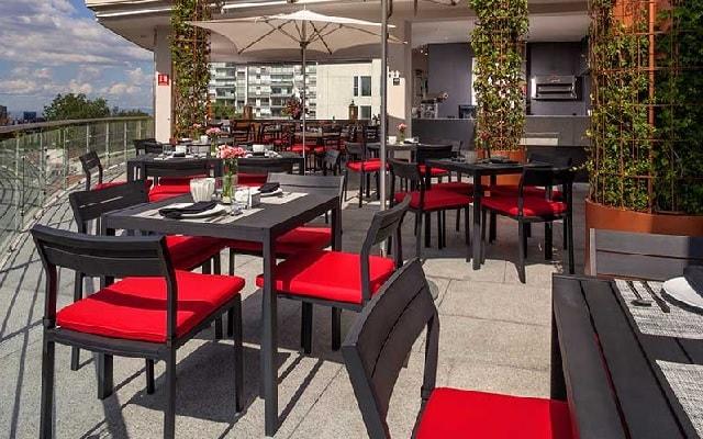 Hotel Stara San Ángel Inn, relájate en la terraza