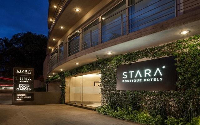 Hotel Stara San Ángel Inn, localizado al Sur de la Ciudad de México
