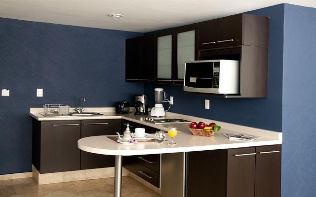 Hotel Suites Berna 12, suites con cocina totalmente equipada