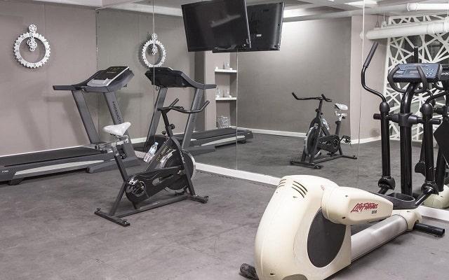 Hotel Suites del Ángel, gimnasio
