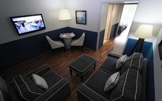 Hotel Suites del Ángel, relájate en la sala