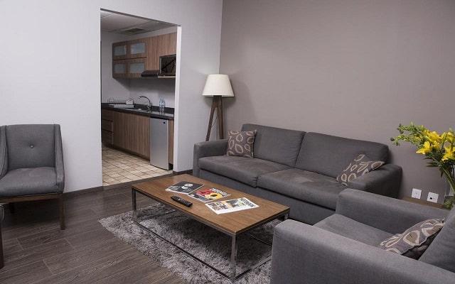 Hotel Suites del Ángel, espacios acondicionados para tu satisfacción