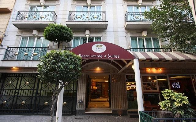 Hotel Suites del Ángel, buena ubicación