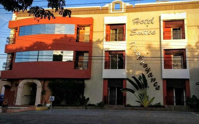 Hotel Suites Flamboyanes en Mérida Centro
