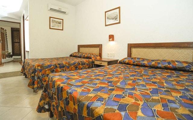 Hotel Suites Ixtapa Plaza y Centro Comercial, amplias y luminosas habitaciones
