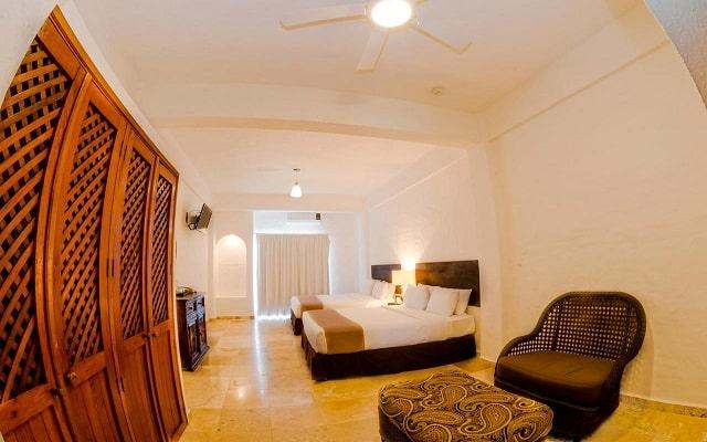 Hotel Suites Mar Elena, amplias y luminosas habitaciones