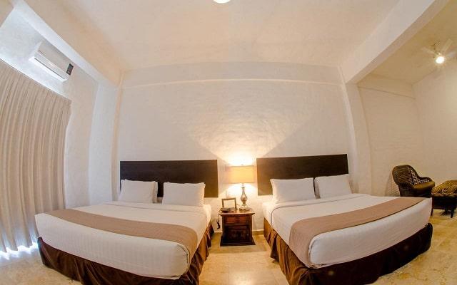 Hotel Suites Mar Elena, habitaciones con todas las amenidades
