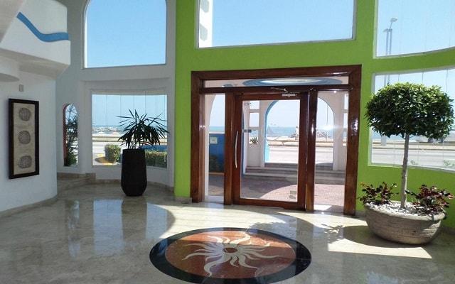 Hotel Suites Mediterráneo, buena ubicación
