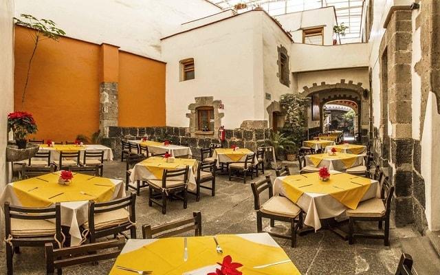 Hotel Templo Mayor, escenario ideal para tus alimentos