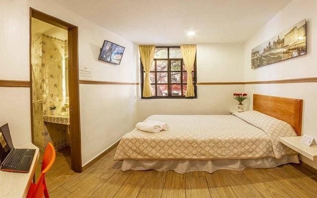 Hotel Templo Mayor, espacios diseñados para tu descanso