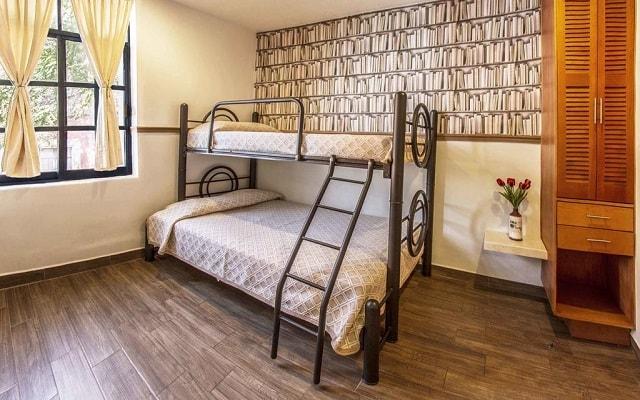 Hotel Templo Mayor, habitaciones acondicionadas para tu visita en familias