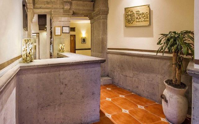 Hotel Templo Mayor, atención personalizada desde el inicio de tu estancia